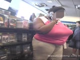 Huge Tits in Video Store 2
