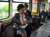 Milena Velba Milking On Tram Part1