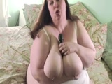 BBW Shaking Her Ass And Playing With Her Sex Toy