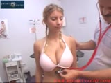 Big Tits cutie goes to the Doctor Pt.1