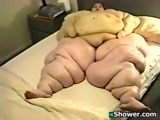 Massive Woman Takes A Shower