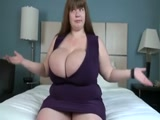 White monster juggs on BBW