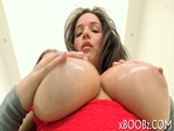 Big natural boobs and nothing else
