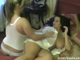 Aneta Buena and Bea Flore having fun