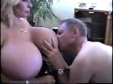 Big titted MILF loves her naughty boy