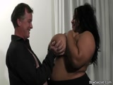 His secret fantasy a black BBW