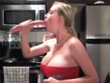 Huge Fake Boobs w/ Deepthroat