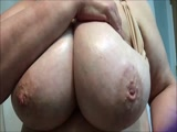 BBW Showing Her Big Tits On Cam