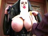The latex nun