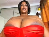 Big mama dressed in red