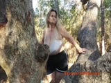 Saggy boobs in the tree